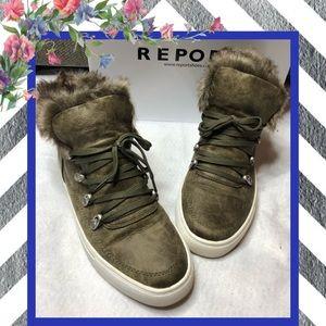 OLIVE GREEN Adair Sneakers